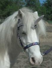 BLING unicorn horn browband - custom made to your size and colour glitter pearl