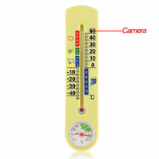 8GB Thermometer Spy Pinhole Camera Hidden Motion Detection Camcorder Security DV