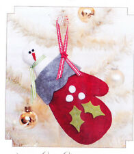 PATTERN - Cozy Christmas - quick and easy ornament PATTERN - Bunny Hill