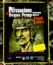 2000 THE PERSUASIONS AND BOGUS POMP PERFORM MUSIC OF FRANK ZAPPA CONCERT POSTER