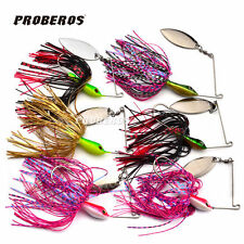 6pcs Lot Fishing Lure JIG Freshwater Sea Tackle Spoon Lures Spinner Spinnerbait