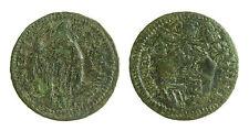 pcc1266_2) Pontificio GUBBIO BENEDETTO XIV 1740-1758 Quattrino San Ubaldo - RR