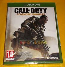 CALL OF DUTY ADVANCED WARFARE Xbox One Versione Italiana 1ª Edizione ○ NUOVO CV