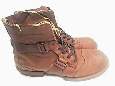 Mens Diesel tramp style brown leather size 9