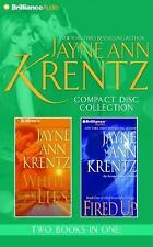 Jayne Ann Krentz CD Collection 3 : White Lies, Fired Up by Jayne Ann Krentz...