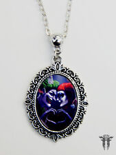 The Joker and Harley Quinn Mad Love Heart Hands Batman Villian Necklace