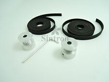 2M GT2 Timing Belt Set + 2X GT2 20 Tooth Pulleys for RepRap 3D Printer Prusa i3