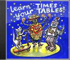Learn Your Times Tables Music CD - Help with Dyslexia, Dyscalculia and Maths