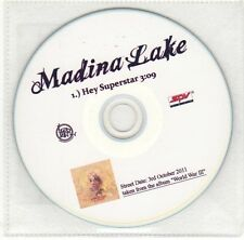 (EH561) Madina Lake, Hey Superstar - 2011 DJ CD
