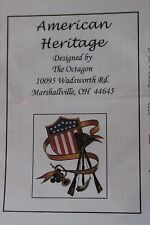 Victorian America Civil War Mid 19 Century Needlepoint Cross stitch Patterns New