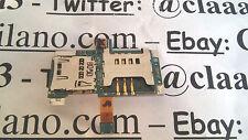SAMSUNG GT-i9000 Galaxy telefono cellulare SCHEDA BOARD  ALLOGGIO SIM MICRO SD