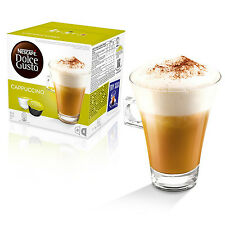 Dolce Gusto Cappuccino Coffee (3 Boxes,Total 48 Capsules ) 24 Servings