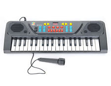 Kids Gifts Children 37 Keys Electronic Keyboard Piano Musical Toy & Mic Records