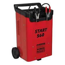 Sealey Professional AUTO / commerciale Batteria Starter / Caricabatterie 12 / 24V mod 230v-start560