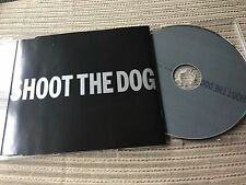 GEORGE MICHAEL - WHAM - SHOOT THE DOG CD SINGLE EU POLYDOR 2002 PROMO 1 TRACK