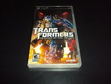 "Transformers: Revenge of the Fallen ""Great Condition"" (PSP) Complete"