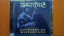 SACRIFICE - SOLDIERS OF MISFORTUNE Marquee version double cd 2013 repress RARE