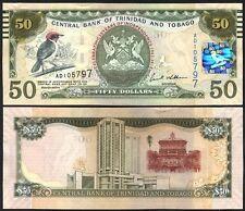 TRINIDAD & TOBAGO 50 Dollars 2006 ( 2012 ) Commemorative UNC P 53