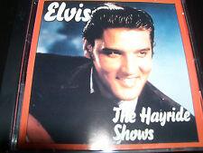 Elvis Presley The Hayride Shows Australian CD DBCD111