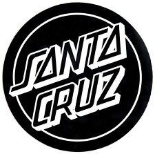 Santa Cruz Classic Dot Skateboard Sticker - 20cm Black skate board sk8 skating