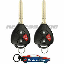 2 Replacement for 2009-2013 Toyota Matrix Key Fob Remote, GQ4-29T