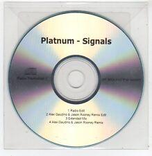 (FF635) Platnum, Signals - DJ CD