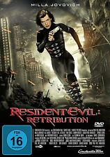 DVD *  RESIDENT EVIL 5 - Retribution FSK 16  # NEU OVP =
