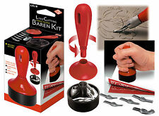 LINO CUTTING BAREN TOOL - cutter, burnisher, stamper & storage