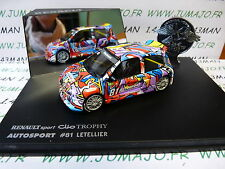 voiture 1/43 Universal Hobbies eagle collectibles : CLIO TROPHY #81 Letellier