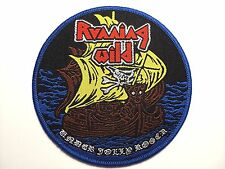 "Running Wild ""Under Jolly Roger""  WOVEN  PATCH"