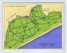 Players, Championship Golf Courses, #22 Cooden Beach Golf 1936 (Gv908-446) VG