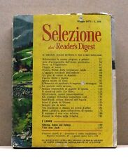 SELEZIONE DAL READER'S DIGEST - MAGGIO 1971
