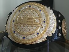 WEC Wrestling Replica Belt adult size Real Leather UFC, WWE, WWF, NWA, TNA