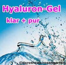 100ml Hyaluron Gel - Superkonzentrat - klar + pur - Feuchtigkeitspflege