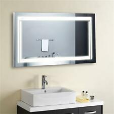 "LED Bathroom Mirror Illuminated Lighted Vanity Wall Mirror Horizontal 36""*28"""