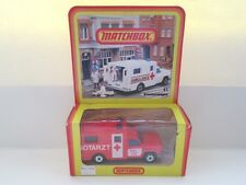 Matchbox Superfast 41c Ambulance - NOTARZT - GERMAN BOX - Mint/Boxed