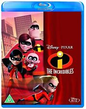 THE INCREDIBLES [Blu-ray Disc Movie] Disney Pixar Film Mr. Incredible Elastigirl