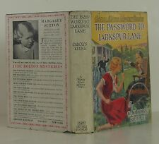 CAROLYN KEEENE Nancy Drew The Password of Larkspur Lane EARLY PRINTING