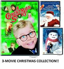 """A CHRISTMAS STORY (FS)"" + 2 EXTRA XMAS MOVIES - BRAND NEW DVD LOT COLLECTION !!"