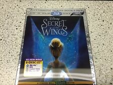 Disney Secret of the Wings 3D (3D/Blu-ray/DVD, 2012) Includes Digital Copy