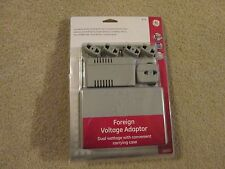 FOREIGN VOLTAGE ADAPTOR..WITH CARRYING CASE..G E #73611...NEW IN BOX..