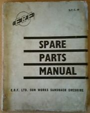 ERF Spare Parts Manual  for models 64G2 & 64GX Tractors