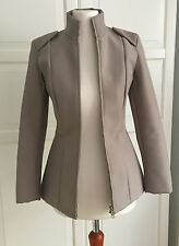 Maison Martin Margiela Cut Out Jacket Jacke beige EUR Größe 34 size US 4 UK 8
