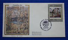 """Canada (1271) 1990 Art Colorano """"Silk"""" FDC"""