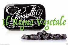 AMARELLI Liquirizia di Calabria PURA BLACK LABEL LATTINA 40g PURE LIQUORICE TIN