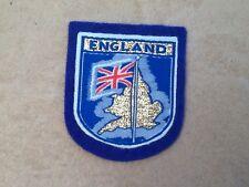 SOUVENIR CLOTH BADGE / PATCH of ENGLAND