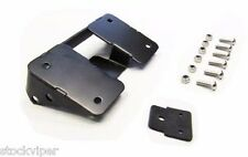 TURN SIGNAL RELOCATION KIT & LAY DOWN LICENSE PLATE MOUNT - HARLEY FATBOY 07 UP