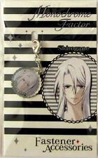 Monochrome Factor Shirogane Fastener Metal Charm Anime Manga Game MINT