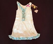 MISS SIXTY GIRLS TURQUOISE DRESS AVAILABLE AGE 2  RRP £59 NOW £10.50 each