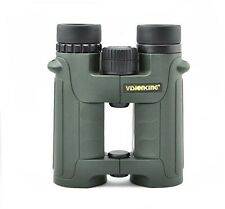 Visionking 10x42 Open Bridge Binoculars birdwatching Hunting Waterproof Green